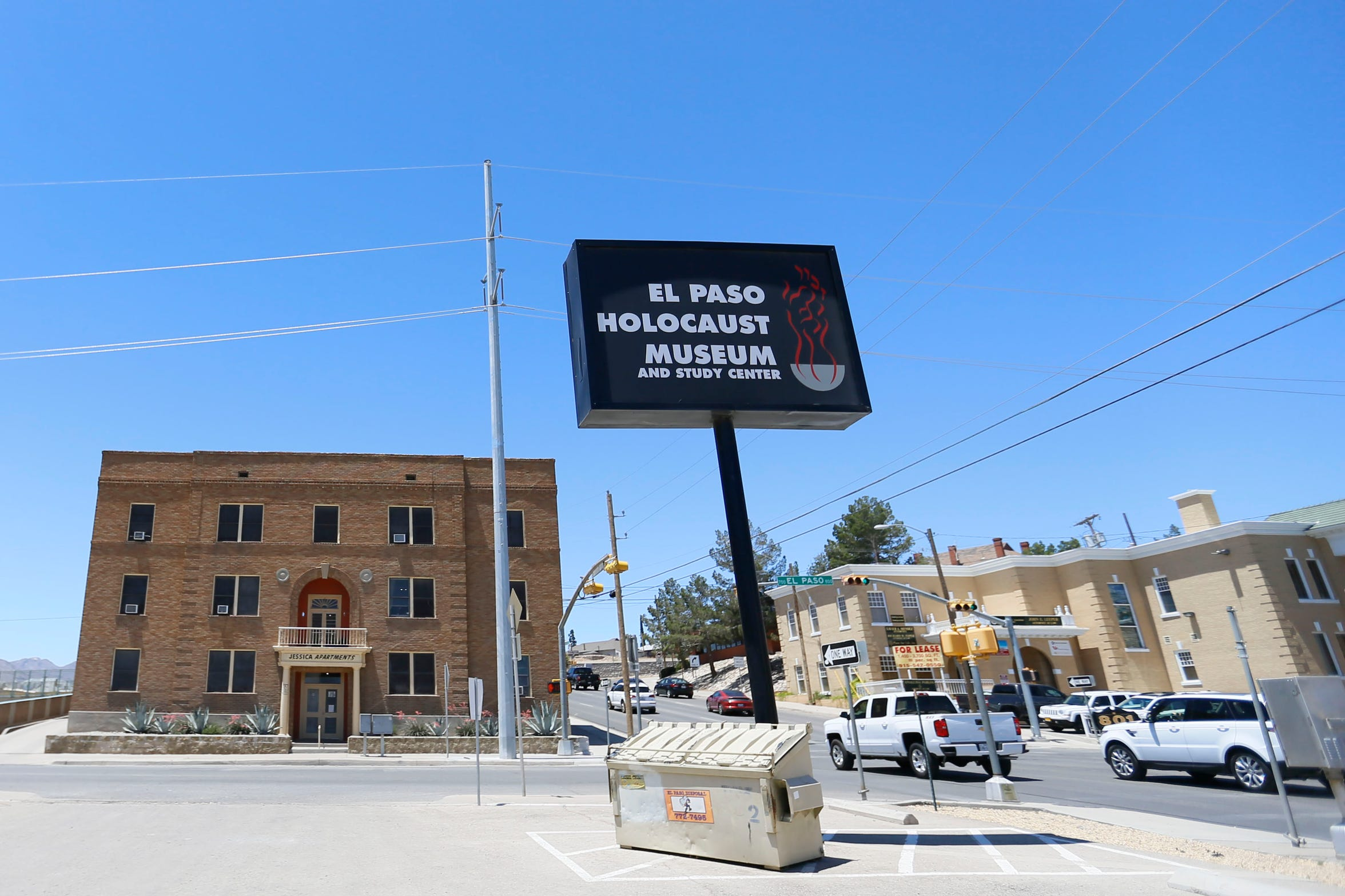The Jessica Apartments at 721 N. El Paso St., and the nearby El Paso Holocaust Museum would likely be demolished under a proposed expansion of Interstate 10 through Downtown El Paso.