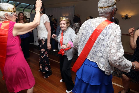 Volunteer foster grandma Zelda Rosenberg, 89, dances at the Headstart of Rockland's fostering grandparents program's annual dinner at Casa Mia Manor House in Blauvelt May 23, 2019. The prom theme event was to recognize the senior citizens that volunteer in school's and sites to tutor, mentor and help students.