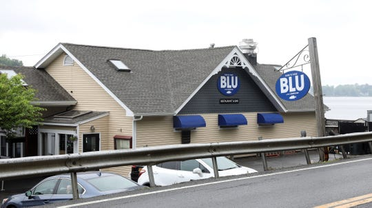 Blu Restaurant on the shores of Lake Mahopac.  Tuesday, May 28, 2019.