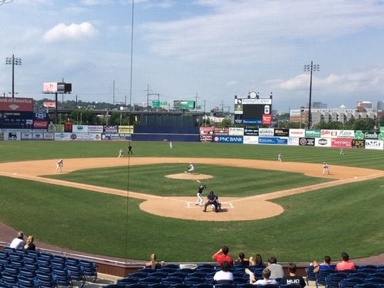 Caravel and Delaware Military Academy play in Tuesday's DIAA baseball quarterfinals at Frawley Stadium.