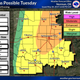 Severe Thunderstorm Watch issued for portion of North Texas
