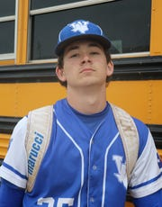 Tyler Etheredge is back pitching for Windthorst after suffering a near-fatal car crash in July.