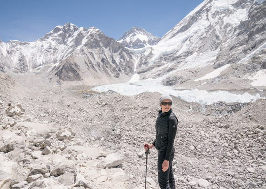 Mandy Moore at Mt. Everest Base Camp