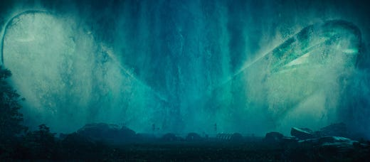 """Mothra makes her glorious return – and has a human connection – in the new sequel """"Godzilla: King of the Monsters."""""""