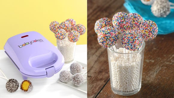 Treat yourself to a great deal on this mini cake pop maker.