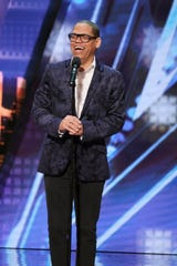 Comedian and impressionist Greg Morton will try to advance to the 'America's Got Talent' semifinals when he performs on Tuesday's live show.