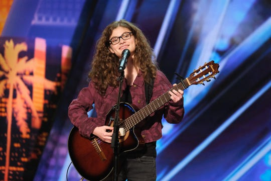 Musician Sophie Pecora, the golden-buzzer selection of guest judge Brad Paisley, is one of 36 'America's Got Talent' acts who will perform in the live shows from Hollywood's Dolby Theatre.