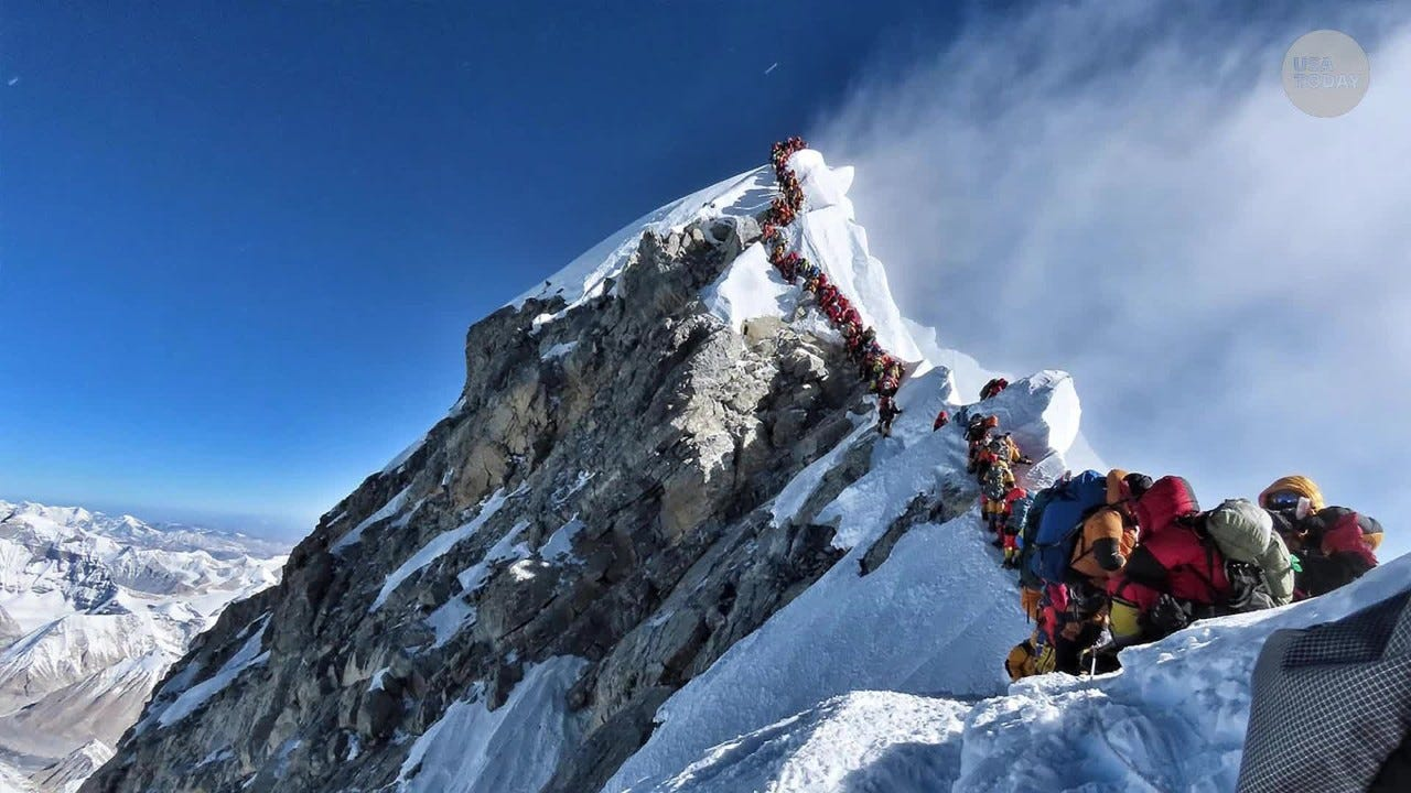 Mount Everest is closed: Coronavirus fears reach world s tallest peak as climbing permits halted