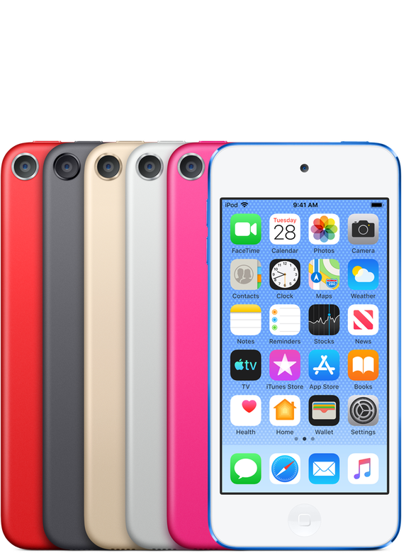 The newest version of the iPod Touch