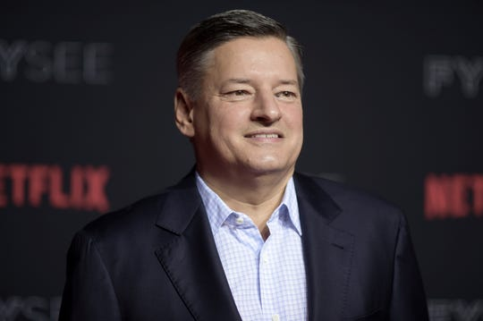 Ted Sarandos at Netflix's FYSee Kick-Off Event in Los Angeles on May 6, 2018.