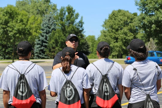 The Center also hosted a Tribal Youth Police Academy training session at Fox Valley Technical College's Appleton Campus.