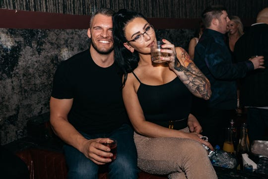 JWoww And Zack Clayton Carpinelllo in Las Vegas on Friday May 24, 2019.