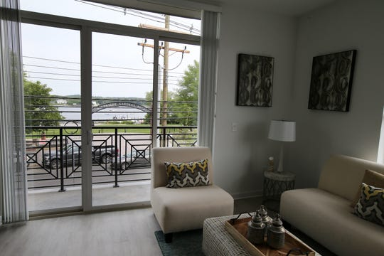 Interior of one of the apartments during the opening of Element, a new high-end 35 unit apartment complex along the Navesink River in Red Bank, NJ Wednesday May 29, 2019.