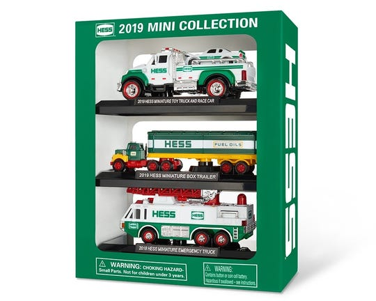The 2019 Hess mini collection.
