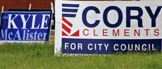 Abilene City Council Place 5 incumbent Kyle McAlister faces challenger Cory Clements in the June 15 runoff. Early voting begins Monday.