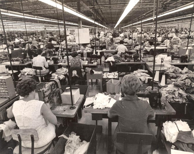 Vanderbilt Shirt Co. in 1960s