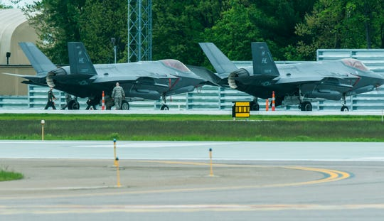 Two F-35s landing in Vermont: How representative are these landings of what's to come?