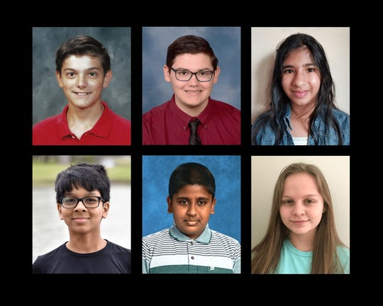 Six local students advanced to the Scripps National Spelling Bee in 2019.