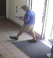 Corpus Christi police are seeking the public's help in identifying a man suspected of recording or taking photos of a minor while in the restroom. Anyone who can identify this man should call Crime Stoppers at 361-888-8477.