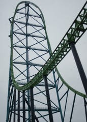 Kingda Ka at Six Flags Great Adventure in Jackson Township, N.J.