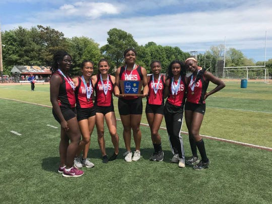 The Woodbridge point scorers that helped the Barrons capture the 2019 North 2 Group III title.