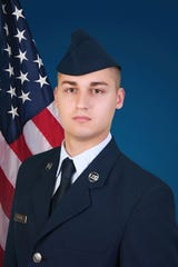 U.S. Air Force Airman 1st Class Jeffrey L. Barany of Piscataway.