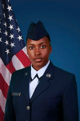 U.S Air Force Reserve Airman 1st Class Zarae H. Gardner of Newark.