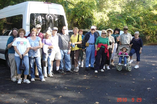 Duke Island Park Wednesday Walkers hit the trails at 9:30 a.m. every Wednesday at Duke Island Park in Bridgewater.
