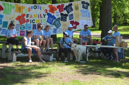 The 50th reunion of the Esposito family was held May 26 at Merrill Park in Woodbridge.