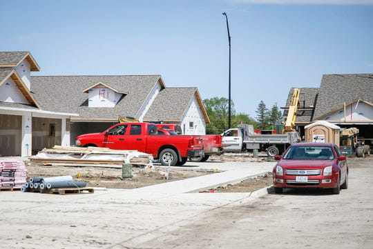 Construction continues on rental homes in Fort Dodge. Communities around the new Prestage facility in nearby Eagle Grove are preparing for an influx in population due to the amount of jobs the plant will bring.