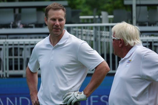 Nebraska basketball coach Fred Hoiberg played 10 holes of pro-am golf Wednesday with major champion golfer John Daly as part of the Principal Charity Classic at Wakonda Club in Des Moines.