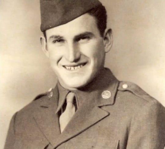 Verle Buck landed on Omaha Beach during World War II.