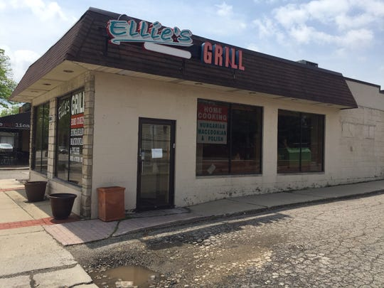 Ellie's Euro-American Grill on Coolidge Highway has closed.