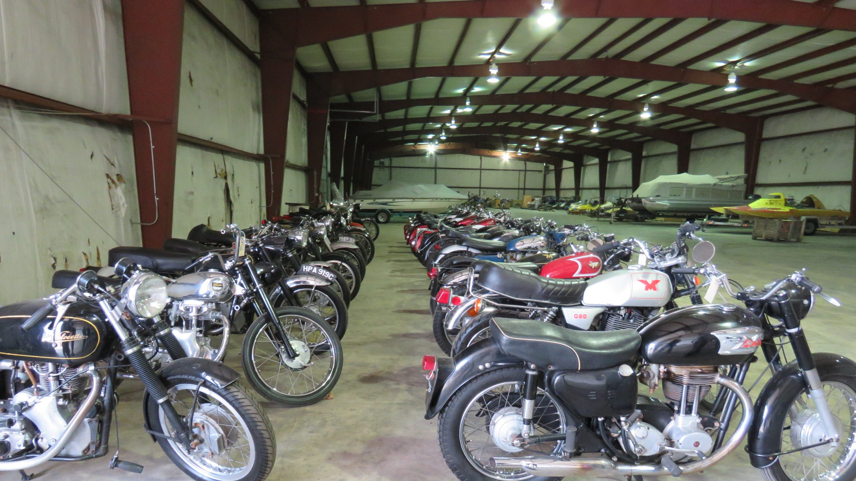 Jeff Begg's Rare Collection Found In Michigan Barn, Headed