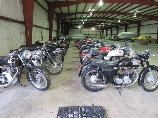 An auction set for June 15, 2019 in Springfield, Michigan, is stuffed with rare British motorcycles.