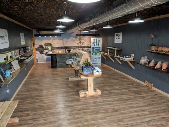 Mother Earth Natural Health store at 32206 Woodward Avenue, is filled with 15 different brands of premium CBD oil — all produced from hemp.