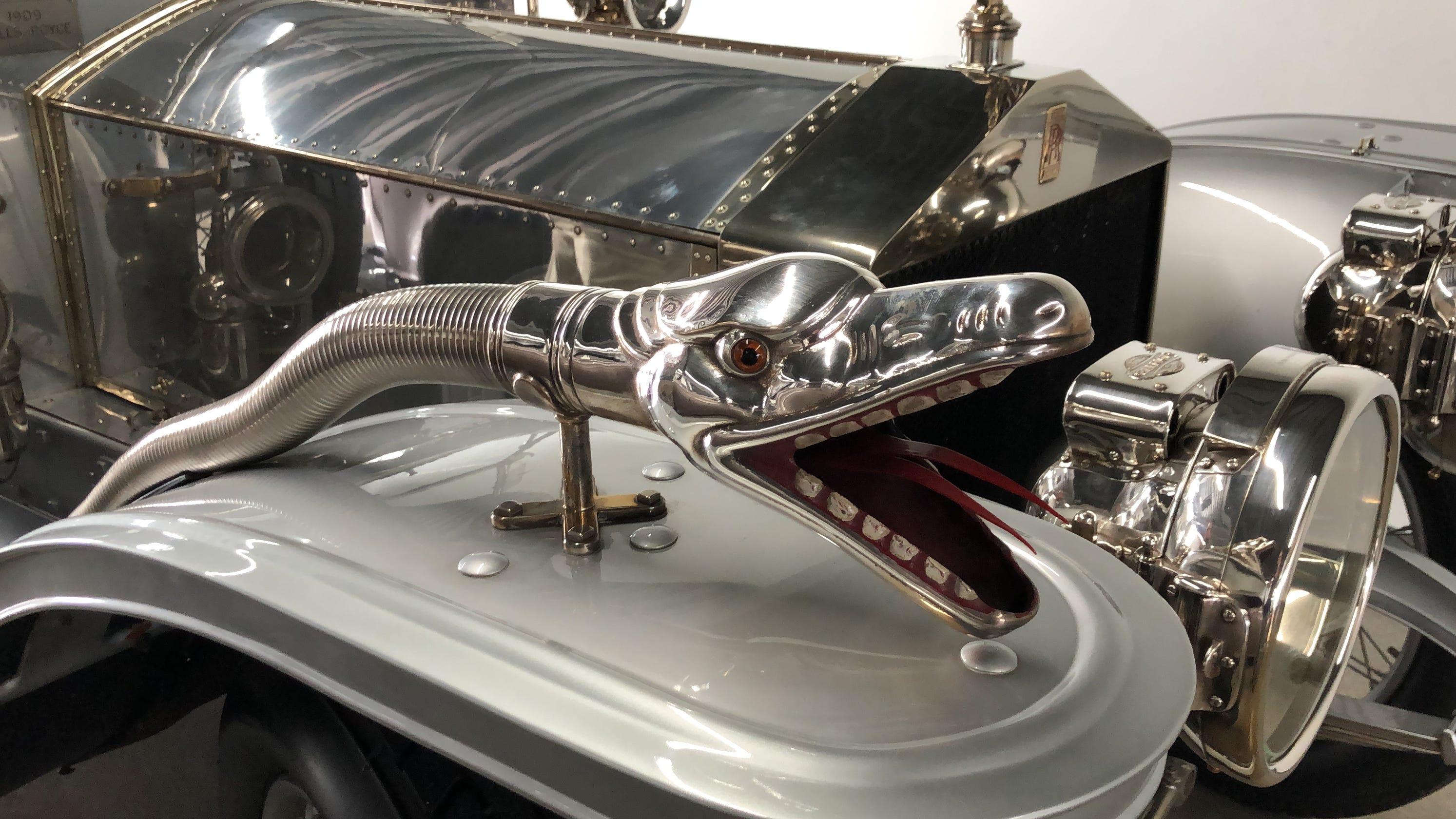 1909 Rolls-Royce Silver Ghost: Peek Inside This Classic Car