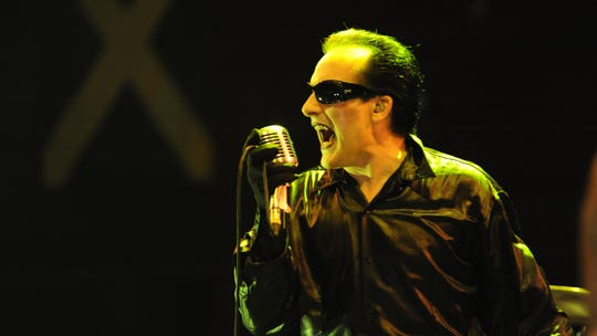 Singer David Vanian will front The Damned at Saint Andrew's Hall on Friday.