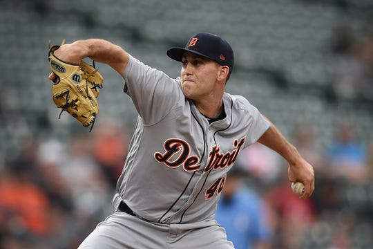 Tigers starter Matthew Boyd struck out eight and scattered six hits in Tuesday's 3-0 win over the Orioles.