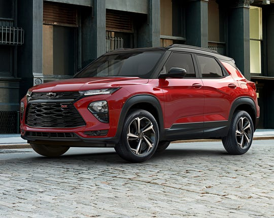 The 2021 Trailblazer will slot into Chevy's lineup between the small Trax and compact Equinox.