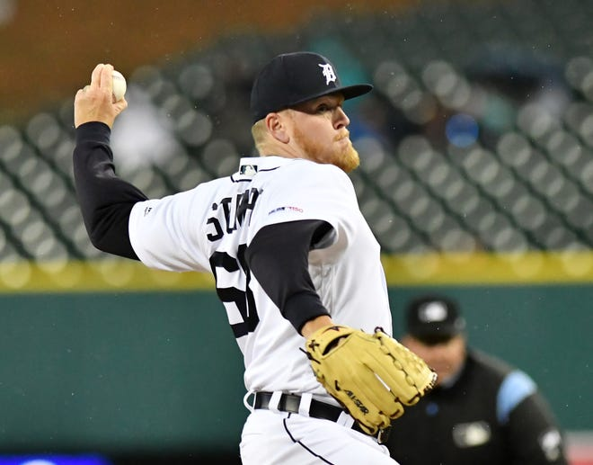Tigers pitcher Daniel Stumpf has been told by Major League Baseball to stop participating in national anthem standoffs.