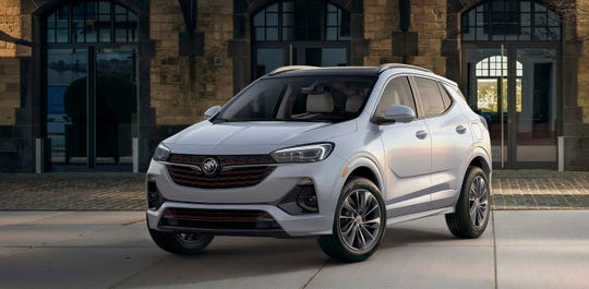 The 2020 Buick Encore GX shares the Encore's cute stance, but gains a more premium wardrobe with bigger grille, scalloped sides and remade c-pillar.