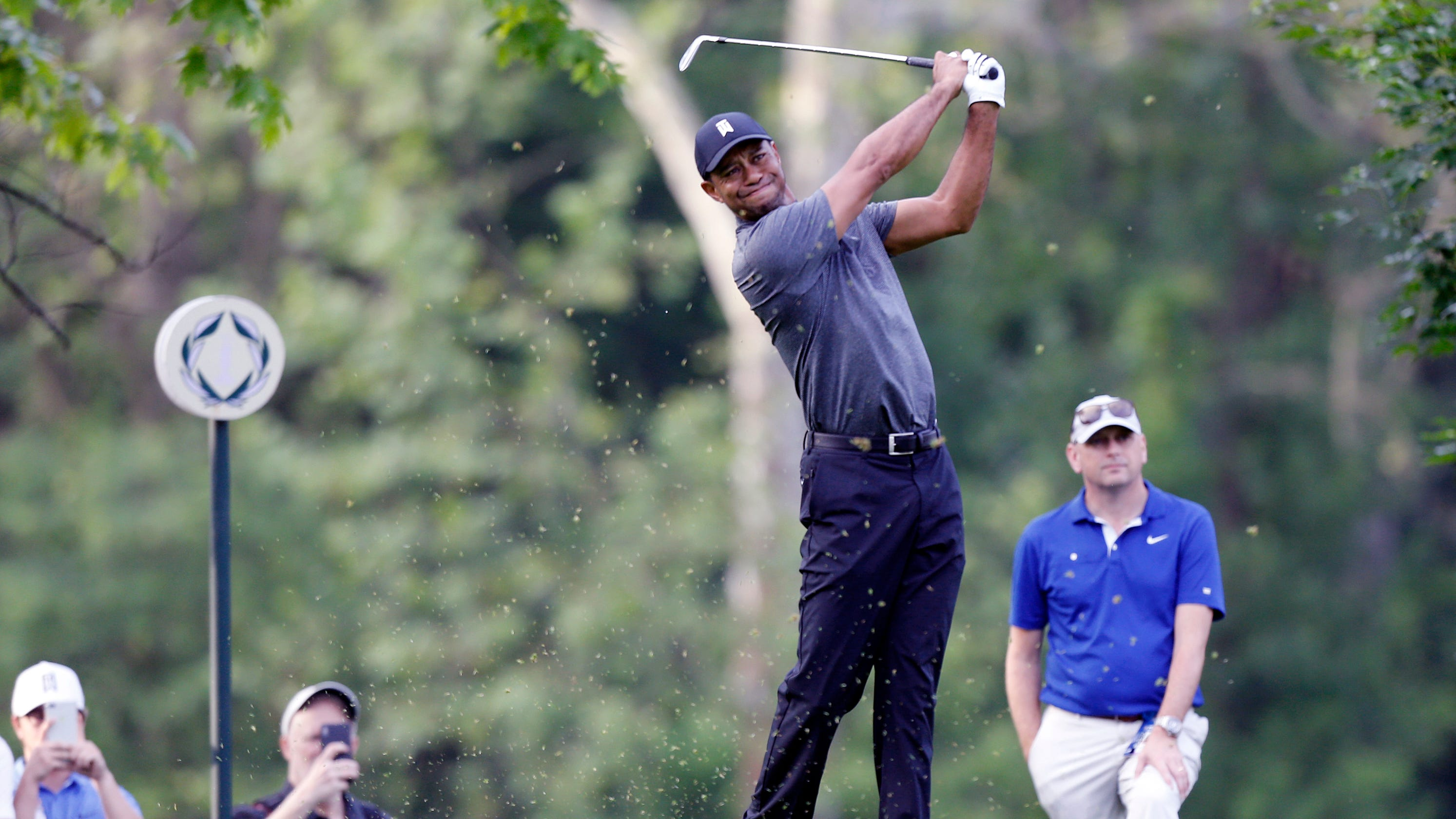 Tiger Woods Enjoying Life And Golf As Rocket Mortgage