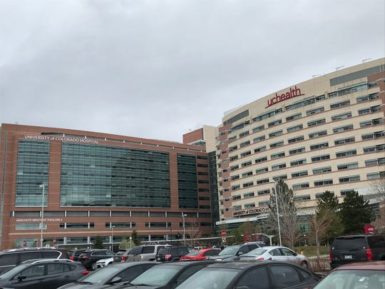 University of Colorado Hospital on the UCHealth Anschutz Medical Campus in Aurora.