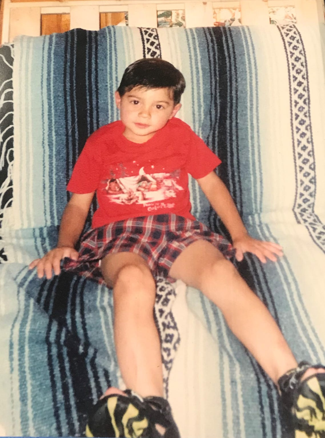 This is a photo taken of 3-year-old Jaryd Atadero the day before he went missing nearly 20 years ago.