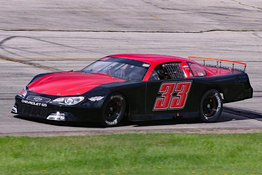 De Pere native Reagan May is battling weekly in the late model division this summer at Wisconsin International Raceway in Kaukauna.