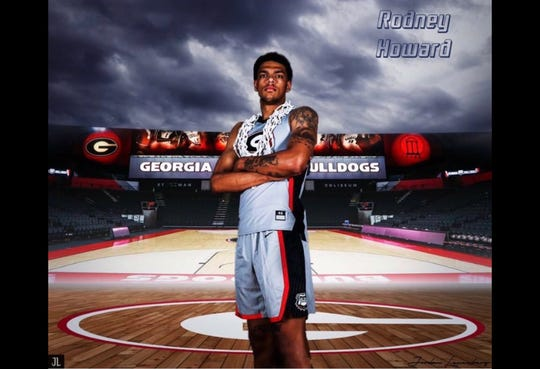 Rodney Howard announced his commitment to Georgia on Wednesday.