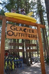 Glacier Outfitters in Apgar has bikes, boats and gear if you don't want to bring your own.