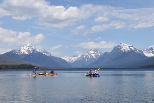 Boating is open in Glacier National Park in June 1.