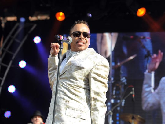 Morris Day and the Time performed at Super Bowl Village on Georgia Street in 2012.
